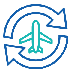 Airport Transfer Icon