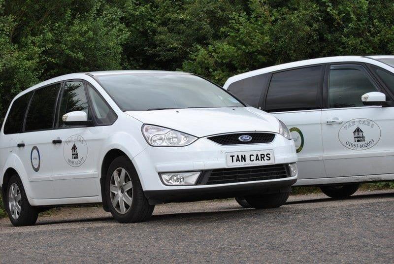 Tan Cars Taxi Range